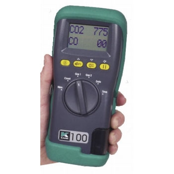 KANE 100 portable CO & CO2 analyseur
